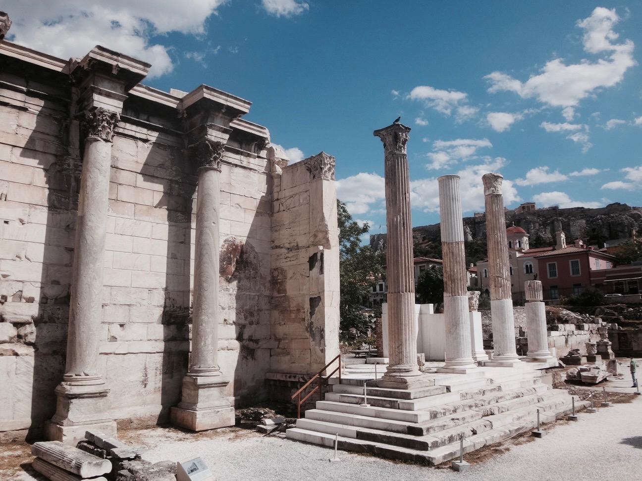 athen hadriansbibliothek