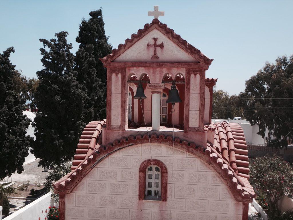 santorini fira oia imerovigli rote kapelle