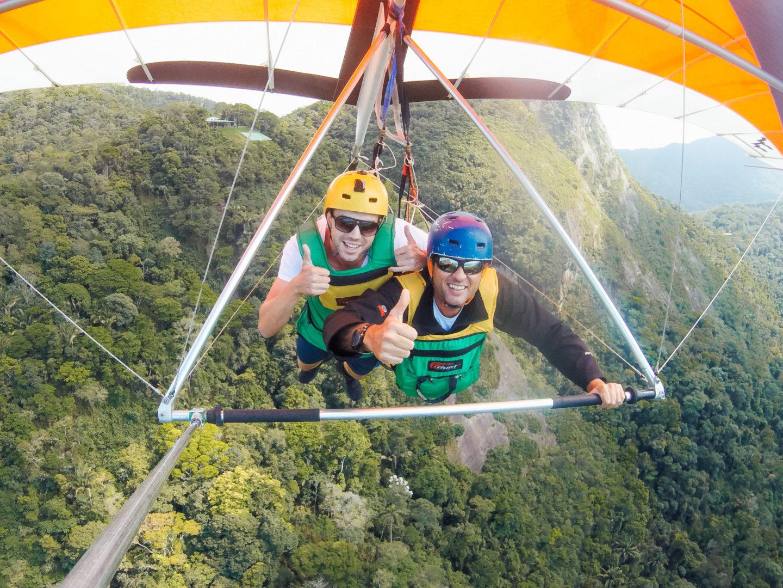 hang gliding delta fliegen delta flight rio de janeiro brasilien